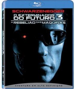 Blu-Ray O Exterminador do Futuro 3: A Rebelião das Máquinas