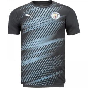 Camisa Pré-Jogo Manchester City 19/20 Puma - Masculina