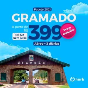Pacote Gramado - 2021 Passagem Aérea + Hospedagem com Café da Manhã