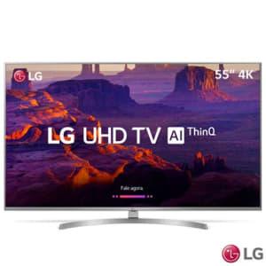 """Smart TV 4K LG LED 55"""" com HDR Ativo, Painel IPS, WebOS 4.0, Controle Smart Magic e Wi-Fi - 55UK7500PSA - LG55UK7500PSA_PRD"""