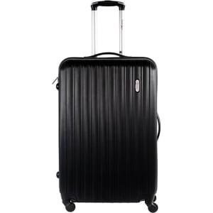 Mala de Viagem Pequena MB-NJ210 Preta Com 4 Rodas Alça Regulável Travel Max