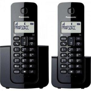 Telefone sem Fio com Id Base + Ramal Kx-TGB110LBB Preto Panasonic