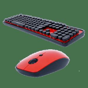 Kit Teclado E Mouse Retro Goldship Kit-1552