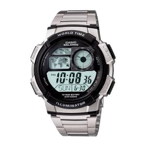 Oferta ➤ Relógio Casio Masculino Prata Digital AE-1000WD-1AVDF   . Veja essa promoção