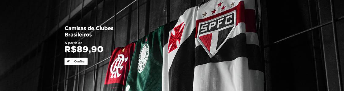Camisas de Clubes Brasileiros a partir de R$ 89,90