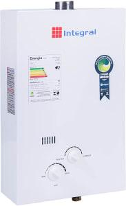 Aquecedor Gas 8L Glp, Integral, Branco