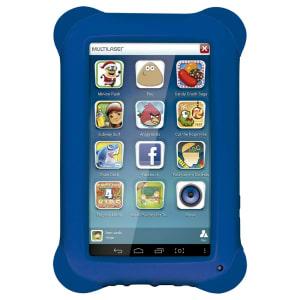Tablet Infantil Kid Pad Quad Core 8Gb Camera 2.0 MP Azul - NB194 Multilaser