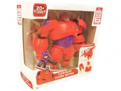 Boneco Big Hero Baymax Chama Voadora com Hiro - 33cm com Acessórios Sunny Brinquedos - Magazine Ofertaesperta