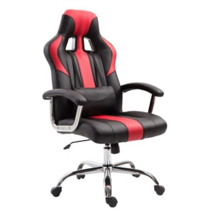 Cadeira Gamer Jaguar Preta e Vermelha