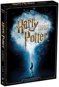 DVD Harry Potter - A Coleção Completa - 8 Discos