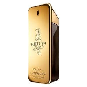 Perfume Masculino One Million Paco Rabanne Eau de Toilette 200ml - Incolor