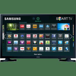 Oferta ➤ Smart TV LED 32 Samsung 32J4300 HD com Conversor Digital 2 HDMI 1 USB Wi-Fi 120Hz   . Veja essa promoção