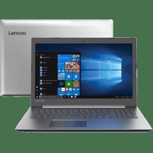 """Notebook Ideapad 330 Intel Core I5-8250u 8GB 1TB HD 15.6"""" W10 Prata - Lenovo"""