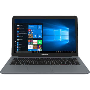 "Notebook Positivo Motion I341TAI Intel Core i3 Tela 14"" 4GB 1TB HD Linux - Cinza"
