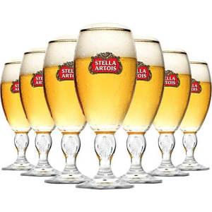 Cálice Stella Artois 250 Ml - Caixa Com 24 Unidades