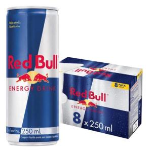 Energético Red Bull Energy Drink, 250 ml (8 latas)
