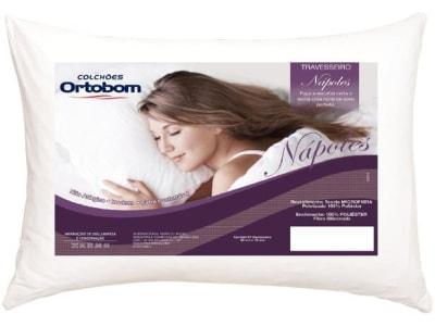 Travesseiro Ortobom de Cabeça - Nápoles - Magazine Ofertaesperta