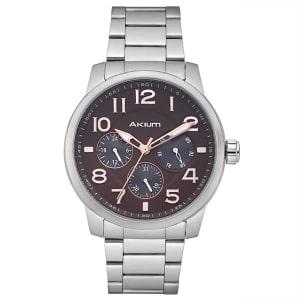 Relógio Akium Masculino Aço - 03c16mb03-ss