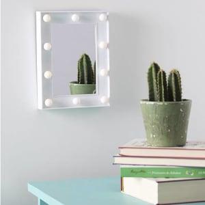 Espelho Decorativo com LED Flash 19,9 x 14,9 x 4,5 cm- Orb