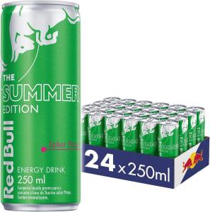 Energético Red Bull Energy Drink Summer Pitaya - 250ml (24 latas)