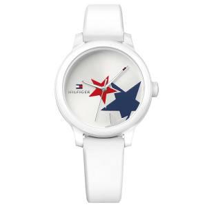 Relógio Tommy Hilfiger Feminino Borracha Branca - 1781796