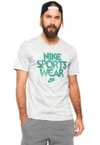 Camiseta Nike Sportswear Cncpt 2 Cinza
