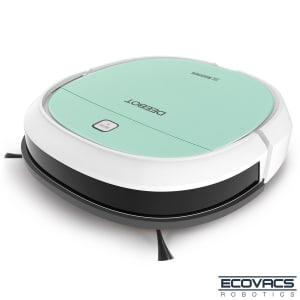 Robô Aspirador de Pó Ecovacs Robotics 3 em 1 com Capacidade de 0,300 Litros e Smart Motion - DK560