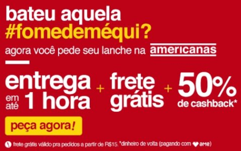 Mcdonalds + AME - 50% Do Valor Pago De Volta!