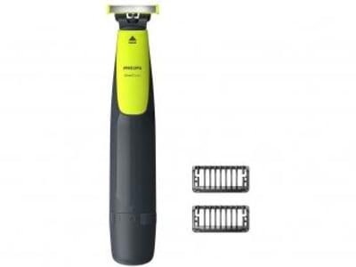 Barbeador Elétrico Philips OneBlade Seco e Molhado - 1 Velocidade com Acessórios