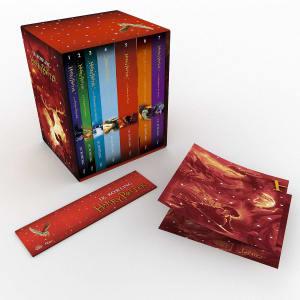 Caixa de Livros Harry Potter - Edição Premium Exclusiva