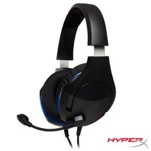Headset Gamer Hyperx Cloud Stinger para PS4, Xbox One e Nintendo Swicth Preto e Azul - HX-HSCSC-BK