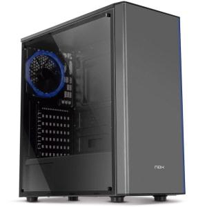 Gabinete Gamer NOX Infinity Omega, ARGB, 1 Cooler, Lateral em Acrílico - NXINFINTYOMEGA