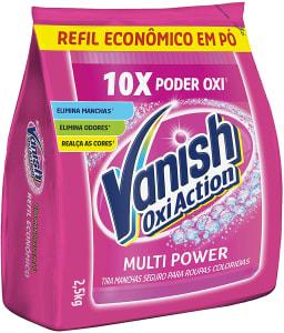 Tira Manchas em Pó Vanish Oxi Action Pink - Refil 2.5kg