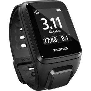 Relógio para Corrida TomTom Spark Cardio Music com Monitor Cardíaco + GPS  P - Preto