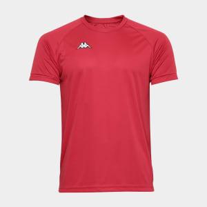 Camisa Kappa Raglan Basic Masculina - Vermelho