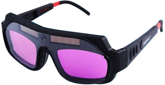 Gecheer óculos De Solda Elétrica De Luz Variável Automática óculos De Proteção Forte