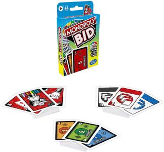 Jogo de Cartas Rápido para Família - Leilão - F1699 - Hasbro Gaming