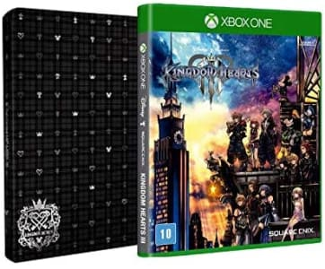 Kingdom Hearts lll - Brinde Steelbook - Xbox One