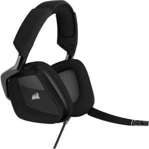 Headset Gamer Corsair USB Dolby 7.1 RGB Carbon Void Pro - CA-9011154