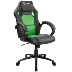 Cadeira Gamer Husky Gaming Snow, Black Green - HSN-BG
