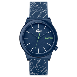 Relógio Lacoste Masculino Borracha Azul - 2010957
