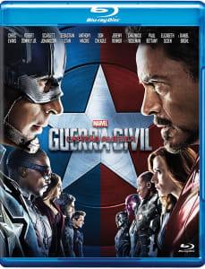 Blu-ray Capitão América: Guerra Civil