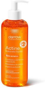 Sabonete Líquido Facial Actine Pele Acneica 400ml - Darrow