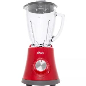 Liquidificador Oster Super Chef RR8 com 8 Velocidades e 750W – Vermelho 110V