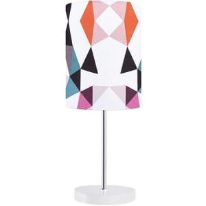 Abajur Quintana Triângulos Colorido - Orb