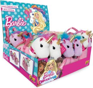 Pelúcia Barbie Dreamtopia Unicórnio Display com 12 Infantil Fun