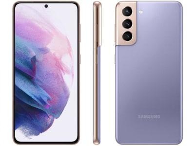 """Confira ➤ Smartphone Samsung Galaxy S21 128GB Violeta 5G – 8GB RAM Tela 6,2"""" Câm. Tripla + Selfie 10MP – Magazine ❤️ Preço em Promoção ou Cupom Promocional de Desconto da Oferta Pode Expirar No Site Oficial ⭐ Comprar Barato é Aqui!"""