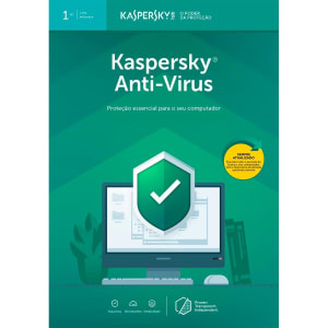 Kaspersky Antivírus 2019 1 PC - Digital para Download