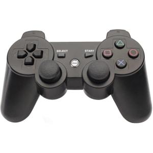 Oferta ➤ Controle Dazz Dualshock Bluetooth PS3 Preto 621121   . Veja essa promoção