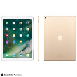 """iPad Pro 2° Geração Dourado com Tela de 12,9"""" Wi-Fi, 512 GB - MPL12BZ/A"""